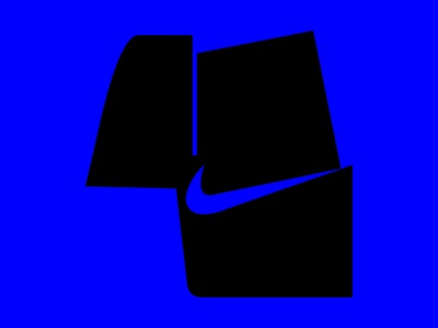 4 + swoosh/nike negative space lover negative space logo nike swoosh swoosh nike number 4 number four mark four letter boldtypography letters typeinspire negativespace bold 36dot 36daysoftype logo typeinspiration