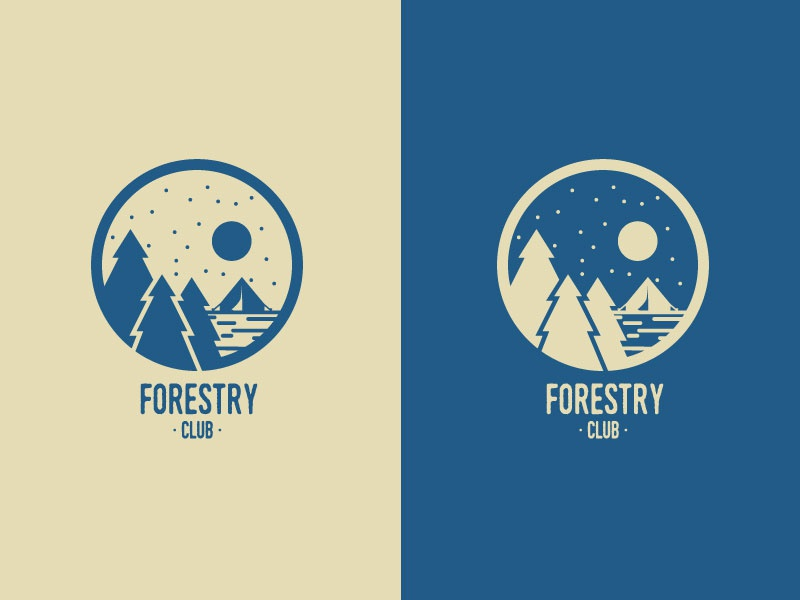 Dribbble forestry club colors2