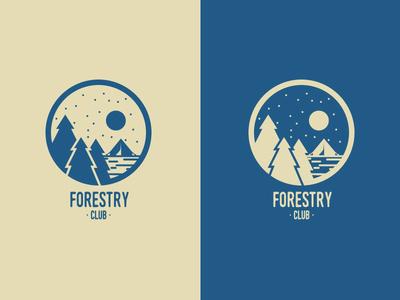Forestry Club Blue