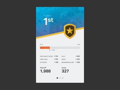 Concept Stat Screen