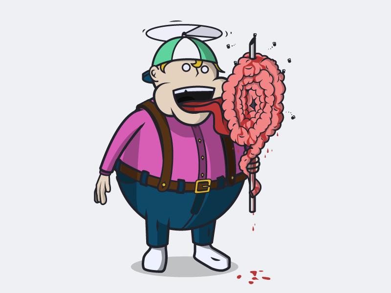 Dribbble lolly