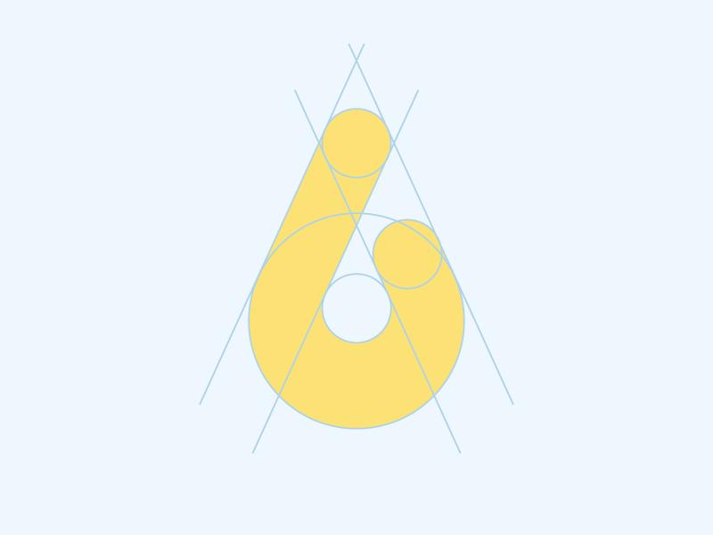 Dribbble logo mark melt