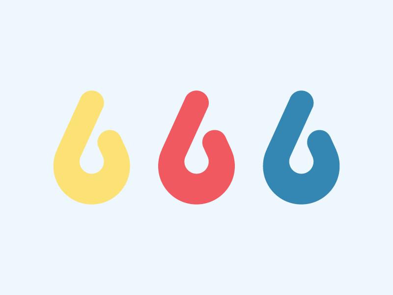 Dribbble logomark colors