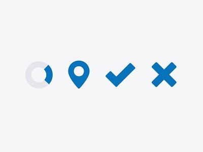 Icons for Tiny UI Kit illustration icon