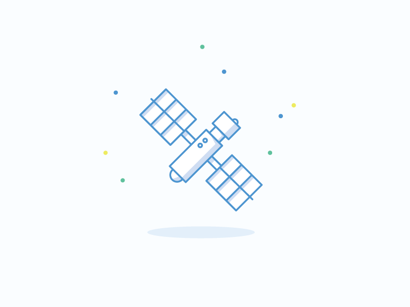 Icon satellite