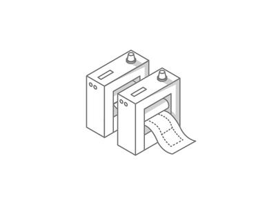 2 Color Offset Press Concept