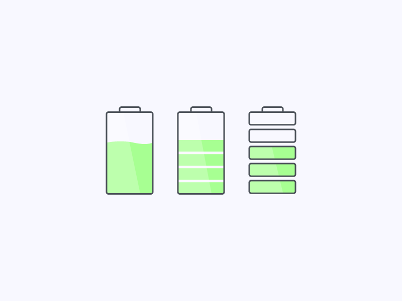 Charging Icon Concepts icons illustration