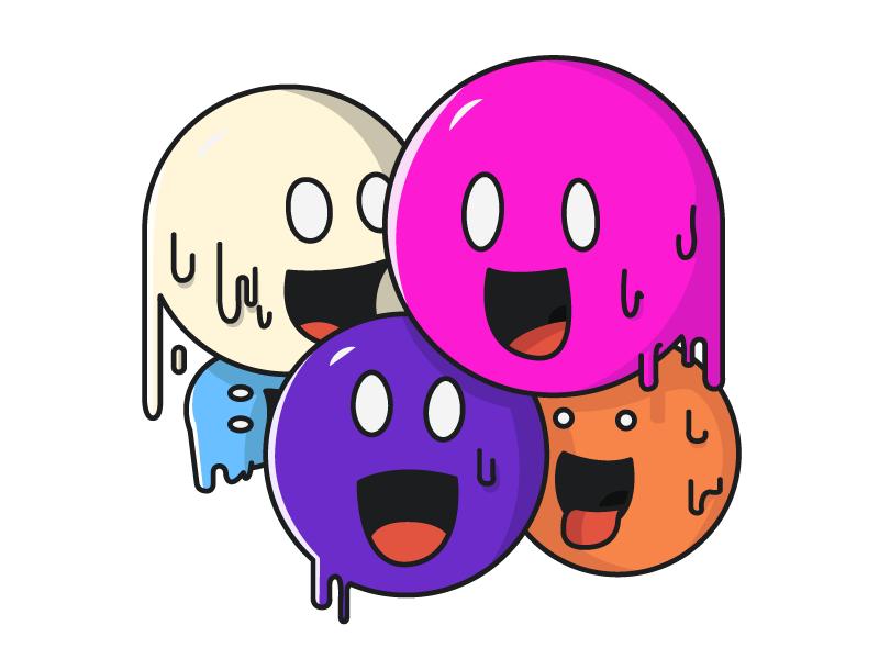 Bubble dudes