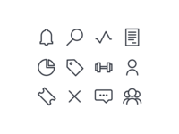 More Line Icons