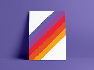¯\_(ツ)_/¯ posters poster color palette color vector