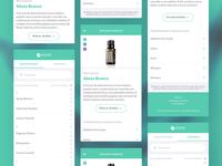 Essencial Oil Mobile Catalog