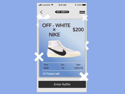 OFF-WHITE X Nike
