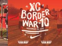 XC border war #10 poster