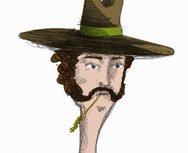 Cowboy cowboy disegno drawing illustration
