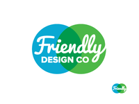 Friendly Design Co. Logo 4.4