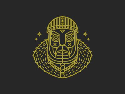 Viking illustration character