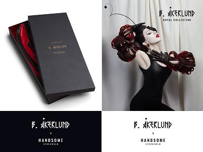B.Åkerlund x Handsome fashion packaging dhultin handsomestockholm hs handsome bea åkerlund