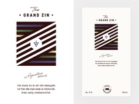 Wine Label - The Grand Zin