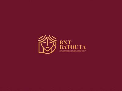 Bnt Batouta Art agency logo art direction artist art designs color palette colorful colors color branding animation blue vector red illustration drawing design typography logo gold
