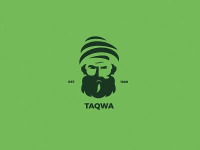 TaQewa - A charity organization arabic calligraphy king arabic logo omar arabe ui red animation vector drawing illustration typography branding design logo gold