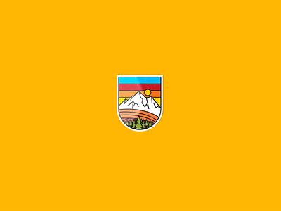 climbing club - logo fire logo design illustration drawing red typography gold branding vector