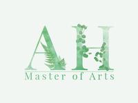 Master of Arts Signage