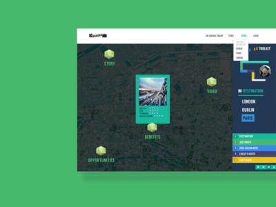 Intern App UI