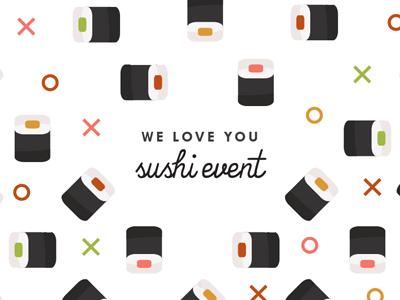 Sushi Invite