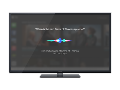 Siri for  TV