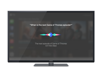 Siri for  TV