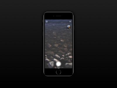 Qumu Capture product designer designer product london app ios iphone record live capture camera