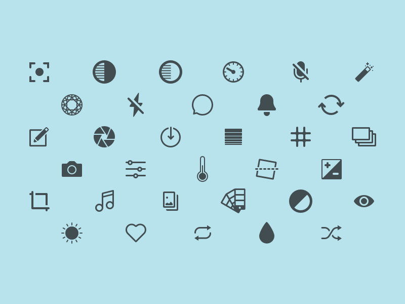 Capture Icons product designer designer product london ios icons icon