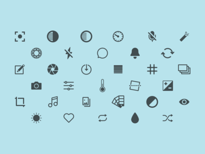 Capture Icons product designer designer product london ios icons icon