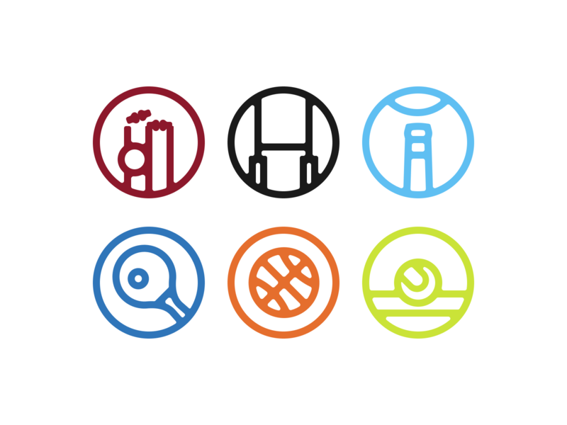 Chunky Sports Icons chunky figma iconography iconset icons