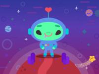 Bipi the alien