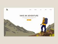Hiking Landin Page
