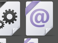 File icons