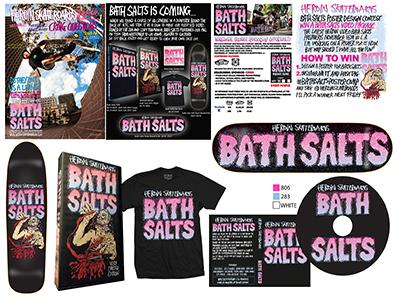 Heroin Bath Salts DVD Branding