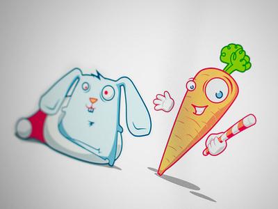 Mr.Carrot & Rabbit