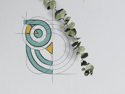 Datoris Logo Creation sneak peek data visulization datoris owl concept sketch process creation logo