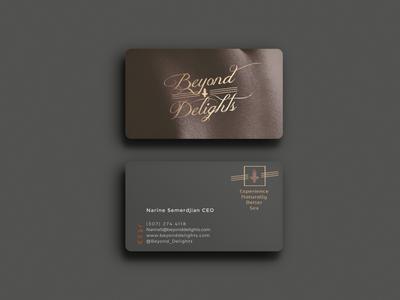 Branding logo business card branding