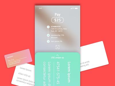 card app concept design card