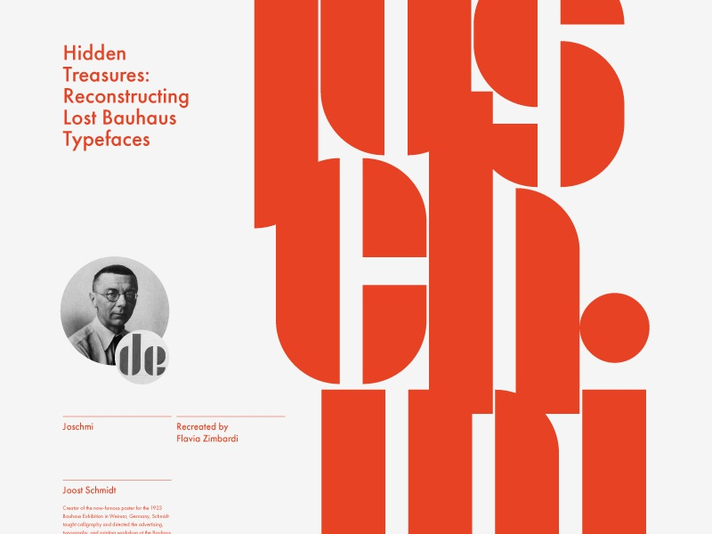 Adobe x Bauhaus joschmi bauhaus adobe adobe hidden treasures typography layout
