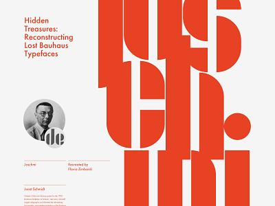 Adobe x Bauhaus joschmi bauhaus adobe adobe hidden treasures typography layout