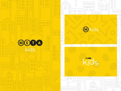 Meta is Coming kids meta new york layout design typography church illustration branding