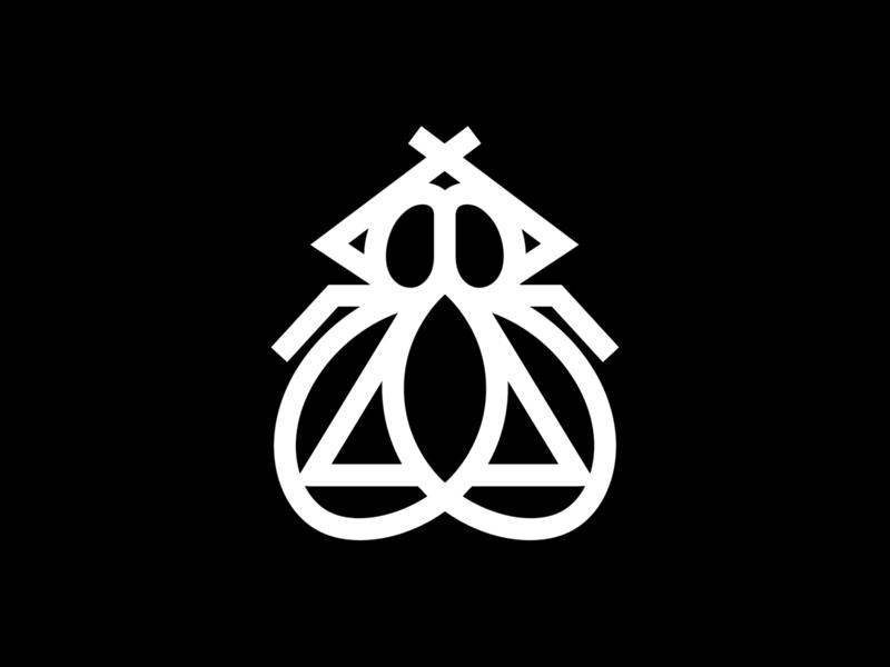 Stril Logo  negro 03 stril vesica innatonic mosca vesicapiscis triangle nicaragua fly logo skate