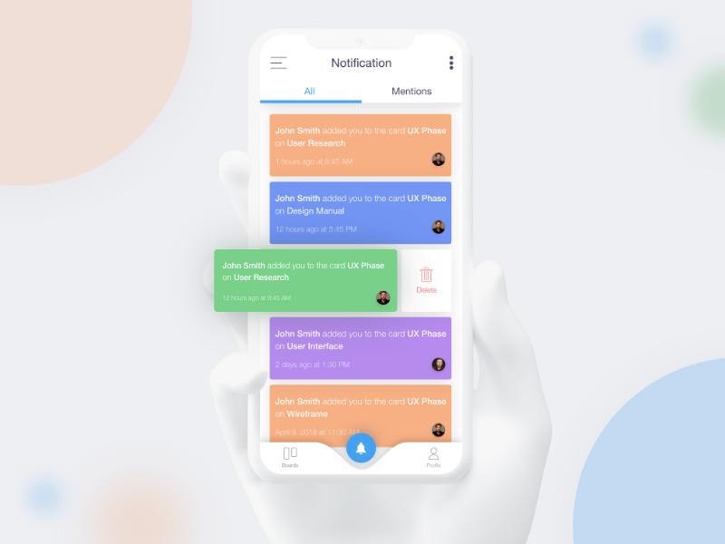 Trello App Redesign Concept