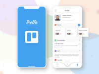 Trello Redesign Concept: iOS Application