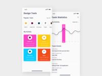 Design Tools Statistics