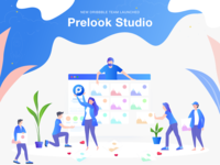 Dribbble Team Launched